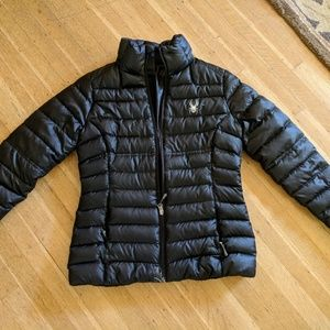 Spyder down jacket